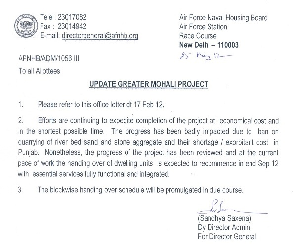 Afnhb kharar greater mohali project greater mohali kharar updates 25 may 12 spiritdancerdesigns